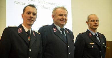 Neue Gemeindewehrleitung gewählt