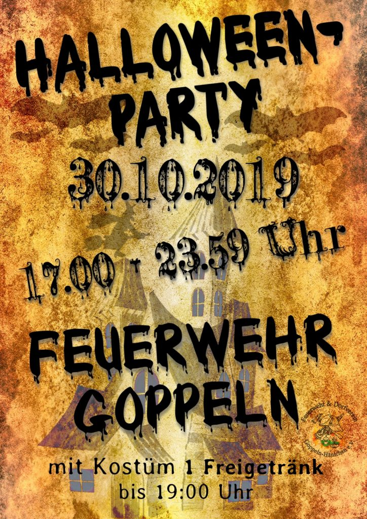 Halloween Party Goppeln