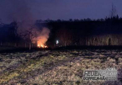 Brandeinsatz – genehmigtes Lagerfeuer