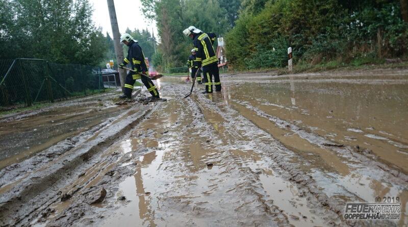 Überschwemmung Gebergrund