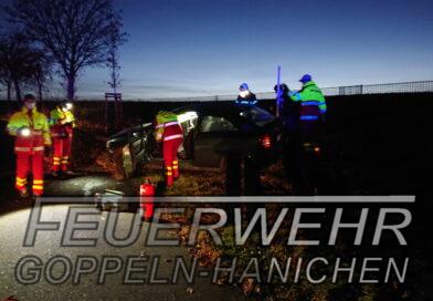 Verkehrsunfall durch Bannewitz