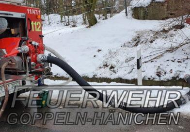 Kellerbrand in Gaustritz