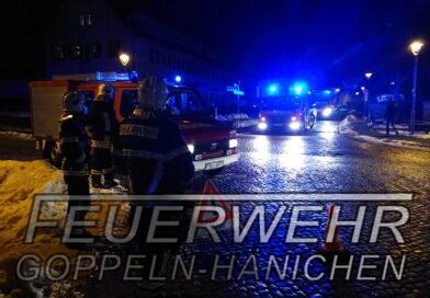 Gebäudebrand in Bannewitz